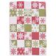 Snowflake Check Jacquard Kitchen Towel, 28