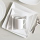 Square 16-Piece Dinnerware Set