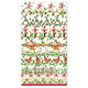 12 Days of Christmas Paper Guest Napkins, Set of 15