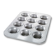 USA Pan Crown Muffin Pan, 12 Count