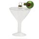 Classic Martini Glass Ornament