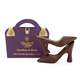 Charbonnel et Walker® Dark Chocolate Handbag and Heels