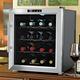 Wine Enthusiast Silent Touchscreen Wine Cooler, 16 Bottle
