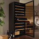 Wine Enthusiast Classic XL Wine Cellar, 259 Bottle