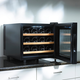 Wine Enthusiast Silent Touchscreen Wine Cooler, 12 Bottle