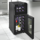 Wine Enthusiast Silent Dual Zone Touchscreen Wine Cooler, 21 Bottle