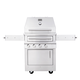 Kalamazoo Hybrid Fire Freestanding 2-Burner Grill