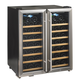 Wine Enthusiast Silent Double-Door Dual-Zone Wine Refrigerator, 48 Bottle