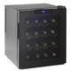 Wine Enthusiast Silent Touchscreen Wine Refrigerator, 16 Bottle