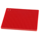 Red Silicone Grid Pot Holder