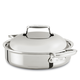 All-Clad d7 Stainless Steel Braiser, 4 qt.