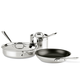 All-Clad Stainless Steel Nonstick 5-piece Set