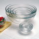 Nested Glass Mixing Bowl Set