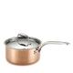 Lagostina Martellata Hammered Copper 2-qt. Saucepan