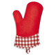 Zeal Steam Stop Gingham Oven Mitt