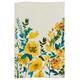 Floral Linen Kitchen Towel, 28