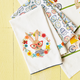 Easter Bunny Embroidered Kitchen Towel, 28