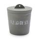 """Cement """"Fleur De Sel"""" Jar"""
