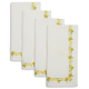 Floral Stitch Napkins, Set of 4