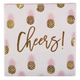 Cheers Paper Cocktail Napkins, Set of 20