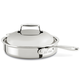 All-Clad d7 Stainless Steel Sauté Roasting Pan with Domed Lid