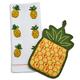 Pineapple Pot Holder and Towel Set