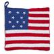 Stars and Stripes Crochet Pot Holder