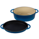 Le Creuset Multifunction Oval Oven with Grill Pan Lid, 4.75 qt.