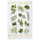 Varietal Herbs Kitchen Towel