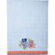 Indigo Owls Vintage-Inspired Kitchen Towel