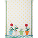 Flower Pots Vintage-Inspired Kitchen Towel