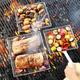 Sur La Table® Mesh Grilling Baskets with Removable Handle, Set of 3