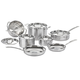 Cuisinart Multiclad Pro Triple-Ply Stainless 12-Piece Cookware Set