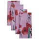 Purple Poppy Napkins, Set of 4