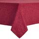 Wonderland Cranberry Jacquard Tablecloth