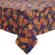 Floral Navy Tablecloth