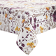 Floral Purple Tablecloth