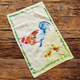 Jacques Pépin Collection Chicken with Chicks Linen Kitchen Towel, 28