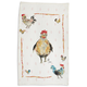 Jacques Pépin Collection Framed Chickens Linen Kitchen Towel, 28