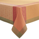 Persimmon Viana Jacquard Tablecloth, 70
