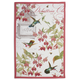 Botanical Hummingbird Kitchen Towel, 30