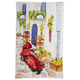 Scooter Italia Kitchen Towel, 28