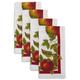 Apple Linen Napkins, Set of 4