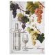Vintage Wine Kitchen Towel, 30