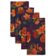 Floral Fall Napkins, Set of 4