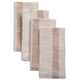Copper Striped Napkins, Set of 4
