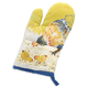 Jacques Pépin Collection Watercolor Chickens Linen Oven Mitt