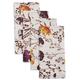 Floral Purple Napkins, Set of 4