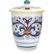 Deruta-Style Biscotti Jar