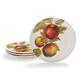 Apple Salad Plates, Set of 4